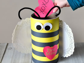情人节蜜蜂礼盒的制作方法