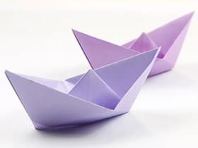 小船的折纸教程
