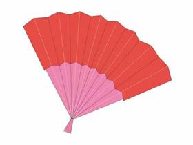 简单折纸扇的方法图解