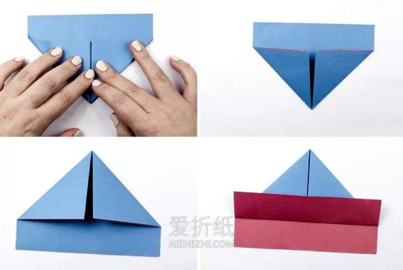 小船的折纸教程- www.aizhezhi.com