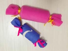 简单糖果形状礼品盒的制作方法