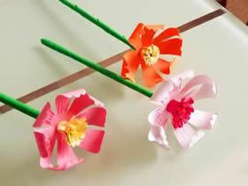 手工做立体纸花的方法