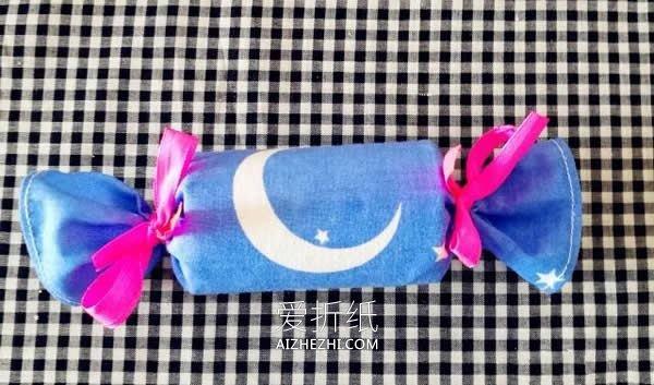 简单糖果形状礼品盒的制作方法- www.aizhezhi.com