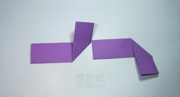简单四角飞镖折纸教程- www.aizhezhi.com