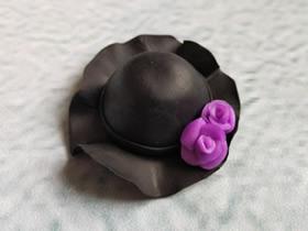 超轻粘土帽子的制作方法