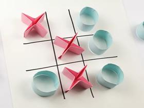 简单折纸井字棋的方法图解