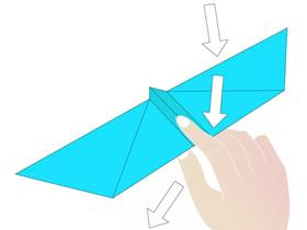 简单蝙蝠飞机的折法图解
