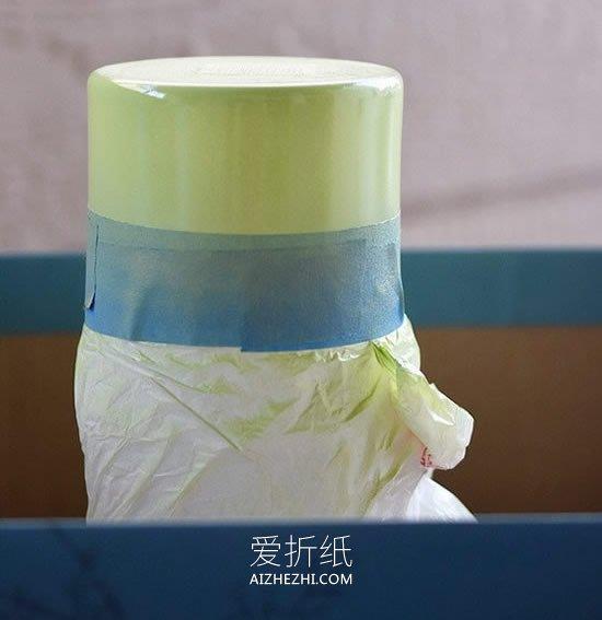 用喷漆改造透明玻璃花瓶的方法- www.aizhezhi.com