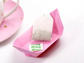 折纸茶盘的方法图解