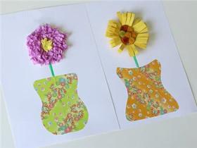 简单向日葵卡片的制作方法