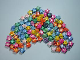折纸幸运星的方法图解