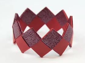 简单手链的折法图解