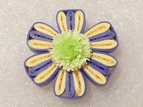 衍纸六瓣花的制作方法