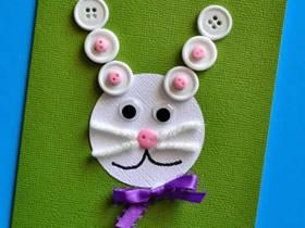 简单兔子中秋节贺卡的制作方法