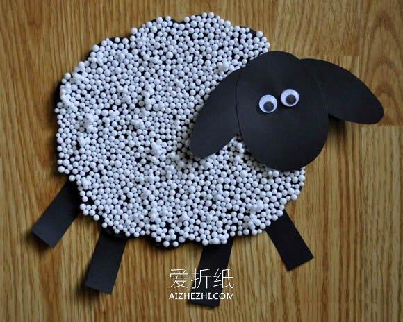 简单小绵羊的制作教程- www.aizhezhi.com