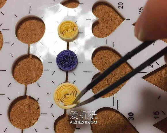 衍纸六瓣花的制作方法- www.aizhezhi.com