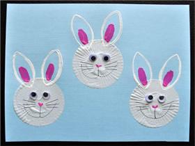 兔子图案中秋节贺卡的做法