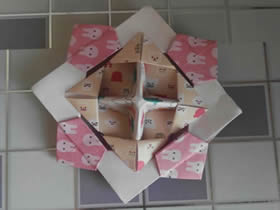 详细纸陀螺的折法步骤图解