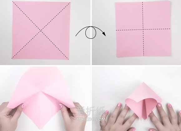 可以拍动翅膀的小鸟折纸图解- www.aizhezhi.com