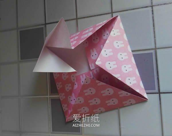 详细纸陀螺的折法步骤图解- www.aizhezhi.com