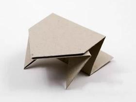 小跳蛙的折纸方法图解