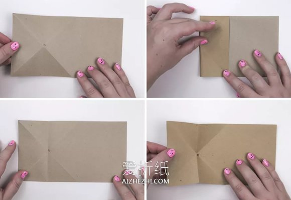 小跳蛙的折纸方法图解- www.aizhezhi.com