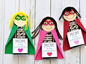 我的妈妈是超级英雄-创意母亲节礼物DIY