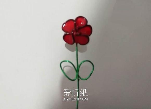 用金属线和指甲油做可爱小花的方法- www.aizhezhi.com