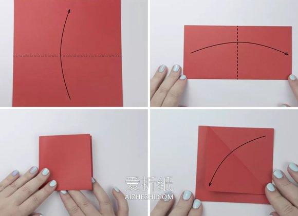 可爱鲤鱼筷子套的折法图解- www.aizhezhi.com