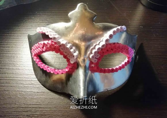 绝美衍纸面具的详细制作步骤图解- www.aizhezhi.com