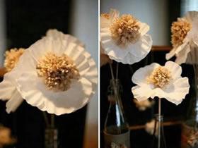 怎么用蛋糕纸做漂亮花朵的方法