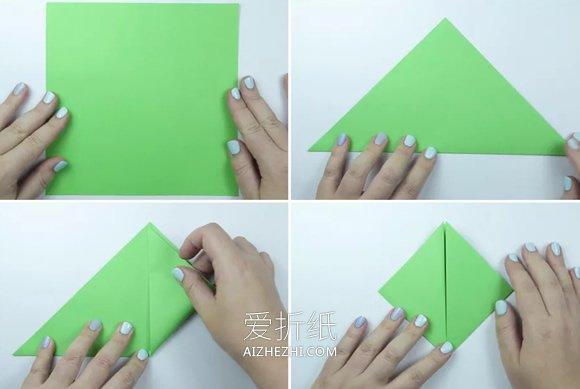 简单折纸乌龟的教程- www.aizhezhi.com