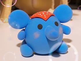 粘土小象的制作方法