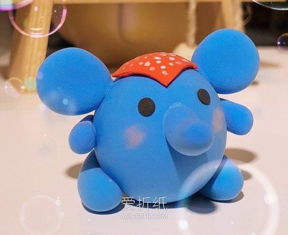 粘土小象的制作方法- www.aizhezhi.com