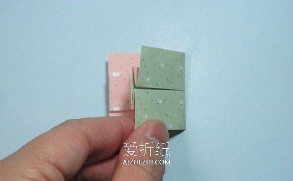 简单折纸上衣和裙子的方法图解- www.aizhezhi.com