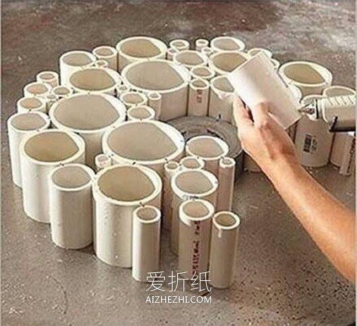 怎么用PVC管做房门装饰的方法- www.aizhezhi.com