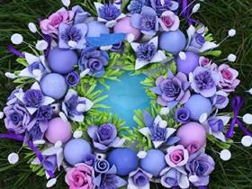 怎么用鸡蛋盒做婚礼装饰花的方法
