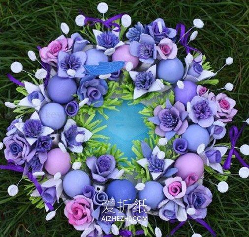 怎么用鸡蛋盒做婚礼装饰花的方法- www.aizhezhi.com