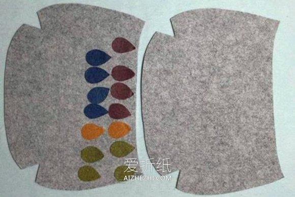 怎么做毡布挎包的方法图解- www.aizhezhi.com