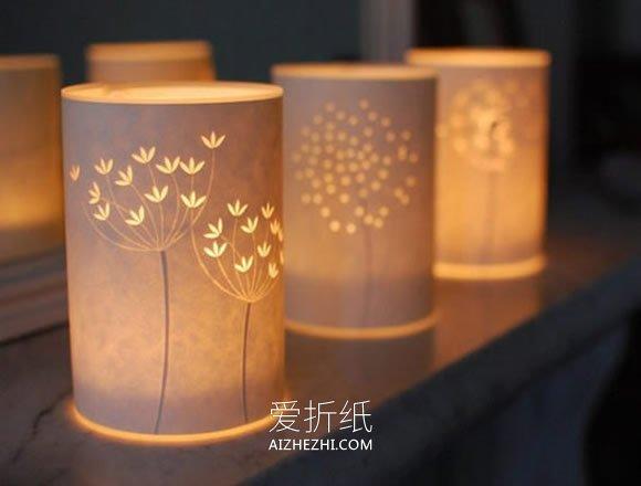 怎么用剪纸做精美灯饰的方法- www.aizhezhi.com