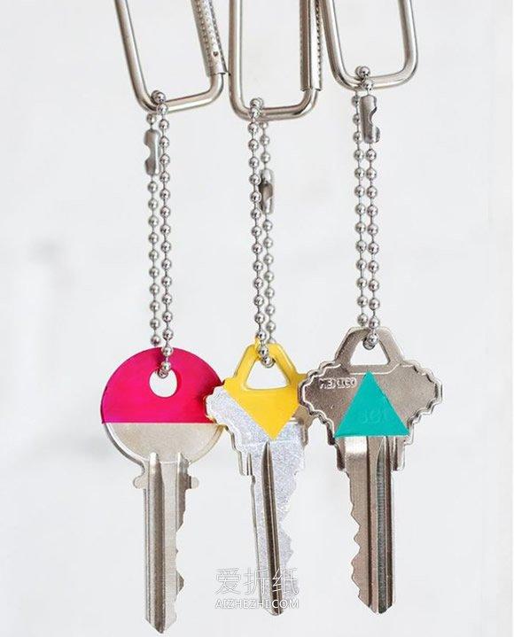 怎么用指甲油改造钥匙的方法- www.aizhezhi.com