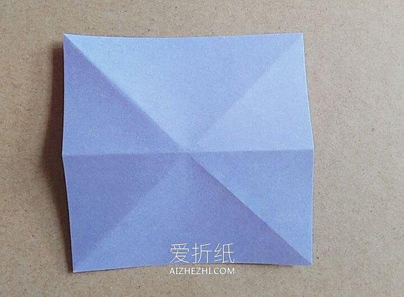 怎么折纸超简单五角星的折法图解- www.aizhezhi.com