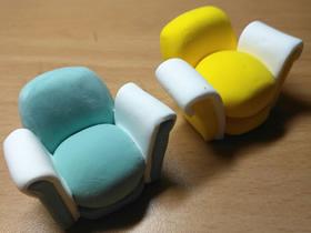 怎么用粘土做沙发的方法图解