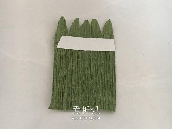 怎么做皱纹纸雏菊的详细图解教程- www.aizhezhi.com