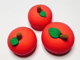 怎么做粘土红苹果的方法图解教程