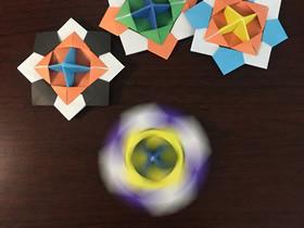 怎么折纸陀螺的详细步骤图解