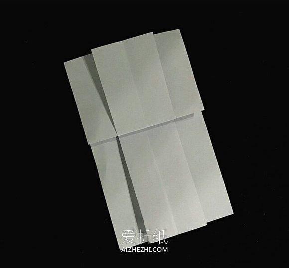 怎么折纸花裙子的折法图解- www.aizhezhi.com