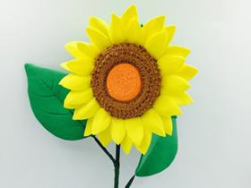 怎么做粘土向日葵的方法教程