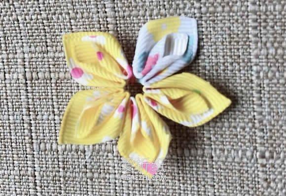 怎么做缎带花简单又可爱的教程- www.aizhezhi.com
