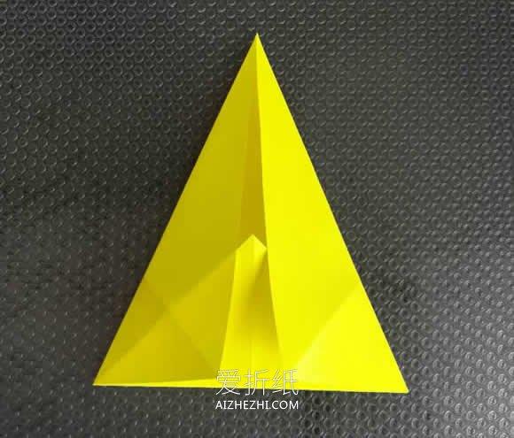 怎么折纸八个角的星星的折法图解步骤- www.aizhezhi.com